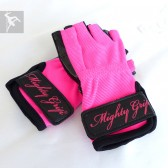 Mighty Grip Handschuhe pink / Lack